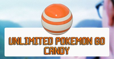 pokemon go candy