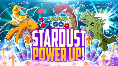 pokemon go stardust